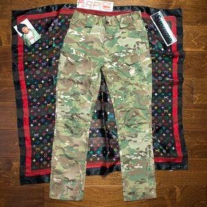 8 pocket japanese military camouflage pants cargo